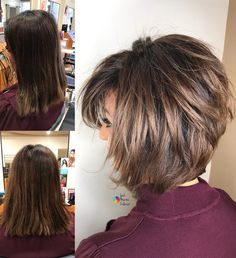 10 Trendy Haircuts for Women over 50 - Female Short Hair 2019 - 2020 10 Trendy Haircuts for Women over 50 - Female Short Hair 2019 - 2020 Stylish Haircuts for Women over 50 - Women Short Hairstyles Short Layered Haircuts, Layered Bob Hairstyles, Easy Hairstyles For Long Hair, Modern Hairstyles, Short Hairstyles For Women, Hairstyles Haircuts, Pretty Hairstyles, Layered Inverted Bob, Short Layered Bobs
