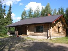 Hevonkuusi, Säkinmäki, Hankasalmi Home Fashion, Cabin, House Styles, Outdoor Decor, Home Decor, Decoration Home, Room Decor, Cabins, Cottage