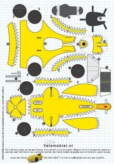 The Recumbent Blog  » Blog Archive   » Paper Dolls… err… Velomobiles