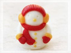 Мыло Снеговик 2д - яркий, веселый снеговик станет приятным подарком к новому году!