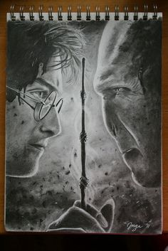 Harry potter and voldemort pencil drawing pencil drawing harry potter art. Fantasia Harry Potter, Arte Do Harry Potter, Harry Potter Artwork, Harry Potter Drawings, Harry Potter Universal, Harry Potter Voldemort, Harry Potter Fandom, Harry Potter World, Lord Voldemort