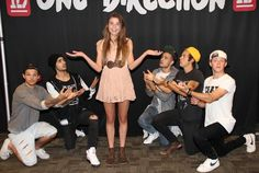 One Direction...this is what I would want to do in my picture with them