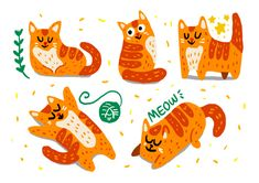 Cats - Set 2 #cats #meow #illustration #drawing Rooster, Kids Rugs, Nice, Drawings, Cats, Illustration, Animals, Instagram, Gatos