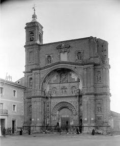 1889 - Zaragoza - Restos del convento de Santa Engracia Foto - J.Levy