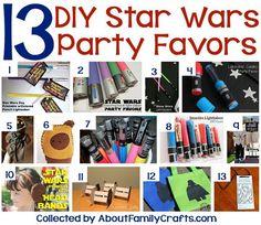 13 Creative DIY Star Wars Party Favors