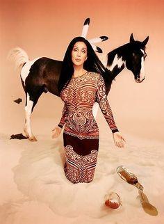 DAVID LACHAPELLE  Cher