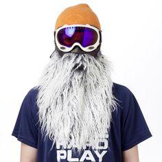 The Ski Mask Shaped Like A Beard
