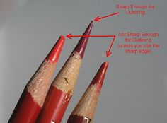 Pencil Drawing Tutorials How to Draw Crisp Edges with Colored Pencils - Sharp Pencils - Want to know how to draw crisp edges with colored pencils? Seven easy-to-use methods you can use to draw crisper lines right now. Blending Colored Pencils, Colored Pencil Techniques, Drawings With Colored Pencils, Colored Pencil Tutorial, Color Blending, Pencil Painting, Color Pencil Art, Watercolor Pencils, Pencil Drawing Tutorials