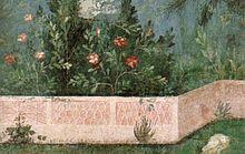 Pittura romana di giardino - Wikipedia