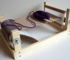 Weaving Ideas | Project on Craftsy: Weaving loom - rigid ...