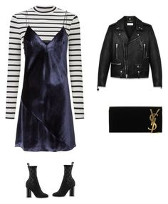"""Dress for the cold"" by thegirlwithstyle1 on Polyvore featuring Miss Selfridge, Fleur du Mal and Yves Saint Laurent"