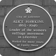 Alice Hawkins Suffragette, the History of Women's Rights Suffrage Movement, Suffragettes, Street Names, Street Fighter, Leicester, Soldiers, Walks, Statues, Feminism