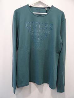 Camiseta aguamarina Guess