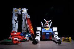 Gundam Rx 78-2 Lego MOC by Andrea Montuori