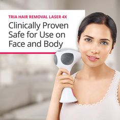 Tria Beauty Hair Removal Laser for Women and Men - At Home Device for Permanent Results on Face and Body - FDA cleared Laser Hair Removal Face, Permanent Facial Hair Removal, Hair Removal Diy, At Home Hair Removal, Hair Removal Systems, Lady Shavers, Nose Surgery, Cosmetic Dentistry, Face And Body