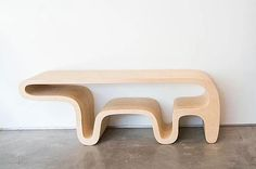 Bear table by Daniel