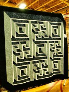 """""""Labyrinth Walk"""" by Debbie Shepard."""