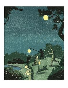 Firefly Night by Yoote on Etsy