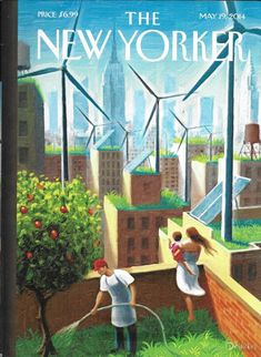 The New Yorker magazine May 19 2014 Free Delivery The Immigrant, Belle