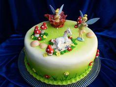 Tinkerbell Cake Torta Pastel Queque De Campanita Bolo Sininho Hawaii