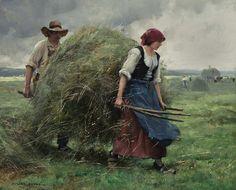 Haying time-Julien Dupré (1851-1810).jpg (925×746)