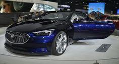 Buick Avista Konzept Noch macht uns wünschen dass sie es errichten würde Buick Buick Concepts Concepts LA Auto Show