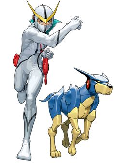 Casshern from Tatsunoko vs. Capcom: Ultimate All-Stars