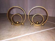 Pair-Walter-Von-Nessen-for-Chase-Machine-Age-Art-Deco-Copper-Brass-Bookends