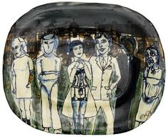 Grayson Perry - Untitled, 1990, painted and glazed... on MutualArt.com