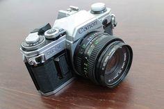 1980s Perfectly-Working Vintage Canon Ae-1 Analog Camera Retro Single-lens reflex on Etsy, $251.77 CAD