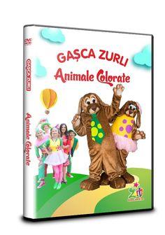 DVD-ul Animale Colorate