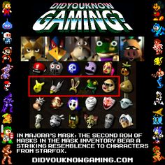 Majora's Mask, Starfox - subliminal messages that are making me want to play SF.... lol