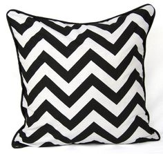 "100% Cotton's Brand New Luxury Cushion Cover Design Chevron Bold Size 18""x18"" A&R http://www.amazon.co.uk/dp/B00J8N5RBC/ref=cm_sw_r_pi_dp_8QHsub1XH7W1D"