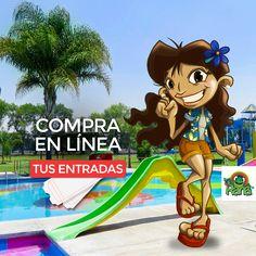 Parque Acuático La Rana. ¡Ya está aquí! compra tus entradas en línea.