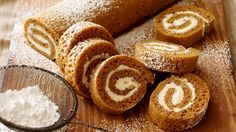How to make the perfect Pumpkin Roll by Trisha Yearwood on Food Network UK.