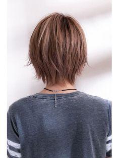 example of tapered shape Thin Hair Haircuts, Bob Hairstyles, Short Hair With Layers, Short Hair Cuts, Hair Layers, Medium Hair Styles, Curly Hair Styles, Great Hair, Hair Day