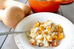 Butternut Squash and Parmesan Risotto - Salubrious RD
