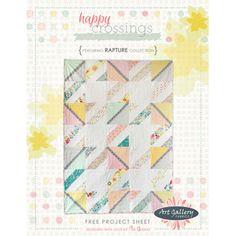 Happy Crossings - free quilt pattern