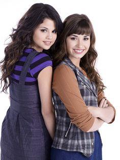 Demi Lovato en Selena Gomez