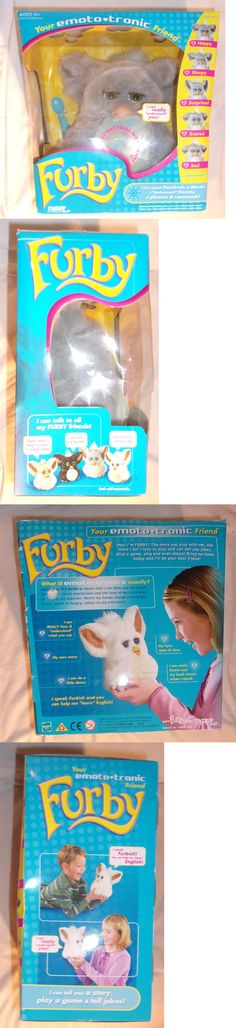 Furby 1083: 2005 Furby Emoto Tronic Interactive Toy By Tiger Electronics New In Box -> BUY IT NOW ONLY: $74.99 on eBay!