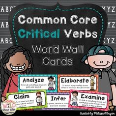 Students need exposure to academic vocabulary found in the Common Core standards, otherwise, they cannot perform well on THE TEST if they do not know what the questions are asking them to do!