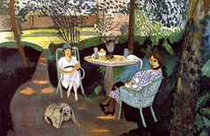 """Henri Matisse, """"Tea,"""" France, oil on canvas, 55 ¼ x 83 ¼ in. """"got a LOT of favorite Matisses and this is for sure one of em: """" LACMA: """"Tea is the largest painting executed by Henri. Henri Matisse, Matisse Kunst, Matisse Art, Raoul Dufy, Matisse Pinturas, Matisse Paintings, Art Sur Toile, Post Impressionism, Art Moderne"""