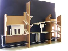 Section model Section Drawing, School Projects, Shelving, Models, Gallery, Home Decor, Shelves, Templates, Decoration Home