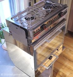 tiny gas stove/oven. www.Facebook.com/TinyHousesAustralia or at www.TinyHousesAustralia.com