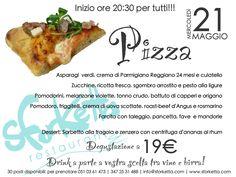 Serata degustazione PIZZA!!! 21 maggio 2014