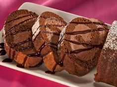 HERSHEY'S Kitchens   Chocolate Mousse Cake Roll Recipe