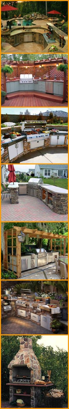 It's got a pool, a water feature, a fire pit, an outdoor kitchen, a big outdoor entertaining area and a view. What else do you think is missing? More outdoor kitchens are waiting for your visit at http://theownerbuildernetwork.co/zivd