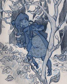 #sketchnearlyeveryday #sketches #sketchbook #schmoelfie #art autumn is coming! xD