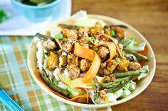 Chickenless Cabbage Salad #vegan #glutenfree   Keepin' It Kind