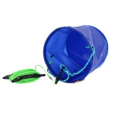 Collapsible bucket with 6 meter/19 Feet rope